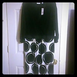 New York & Co mid length dress XL